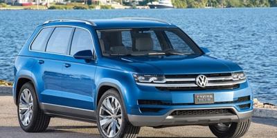 大众新7座中型SUV Teramont 国产造型曝光
