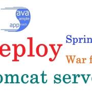 SpringBoot 应用部署于外置 Tomcat 容器